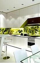 Ф-192: Рабочая стенка на кухню, черные маслины, зеленые оливки