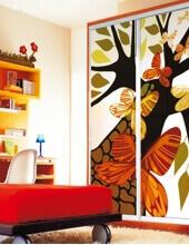 Встроенный шкаф в детскую комнату: Ш-216